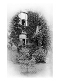 "Summer at ""The Pines"", Swinburne's Home at Putney, C.1900-09 (B/W Photo) Giclee Print by Samuel James Poole"