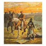 Henry Iii and the Barons Giclee Print by  English