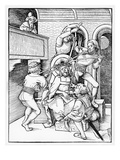 Christ Crowned with Thorns, 1508 (Woodcut) Giclee Print by Hans Or Johannes Ulrich Wechtlin