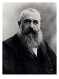 Portrait of Claude Monet (1841-1926) 1901 (B/W Photo) Premium Giclee-trykk av  Nadar