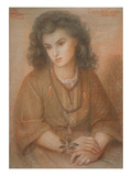 Calliope Coronio, after Dante Gabriel Rossetti, 1869 (Pastel on Paper) Giclee Print by Henry Treffry Dunn