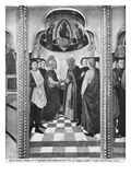 Cycle of the Life of the Virgin, St. Joseph and the Pretenders, C.1445 Giclee Print by  Giovanni Francesco da Rimini