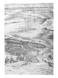 Grande Pianta Prospettica - Venice, C.1500 (Engraving) (Right Hand Side) Premium Giclee Print by Jacopo De' Barbari