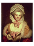 Countess Lavinia Spencer (1762-1831) 1781-2 (Oil on Canvas) Giclee Print by Sir Joshua Reynolds