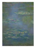 Waterlilies, Detail, 1903 Giclee Print by Claude Monet