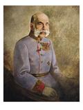 Franz Joseph I of Austria, c.1916 Giclee Print by Vienna Nedomansky Studio