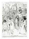 Scene I, Petticoat Lane, Published in 'Punch's Almanack for 1898' (Litho) Giclee Print by Phil May