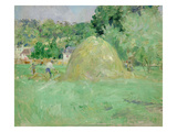 Haystacks at Bougival, 1883 Giclee Print by Berthe Morisot