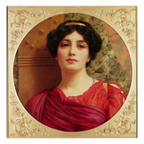 Classical Lady Giclee Print by John William Godward