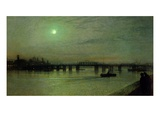 Battersea Bridge, 1885 Giclee Print by John Atkinson Grimshaw