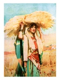 Ruth Giclee Print by William Hatherell