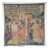 Susanna and the Elders, Central Panel from the Story of Susanna (Tapestry) Giclee Print by  French