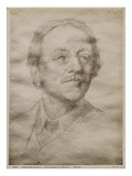 Sir Francis Seymour Haden Junior, 1895 (Goldpoint on Paper) (See also 414598) Giclee Print by Alphonse Legros