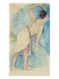 Tahitian, 1893 (Monotype) Giclee Print by Paul Gauguin