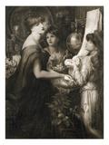 La Bella Mano, 1905 (Photogravure) (See 106994) Giclee Print by Dante Gabriel Rossetti
