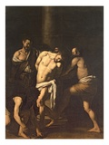 Flagellation, 1607 Giclee Print by  Caravaggio