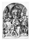 Christ Crowned by Thorns (Engraving) Giclee Print by Martin Schongauer