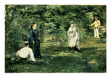 The Game of Croquet, 1873 Giclee Print by Édouard Manet