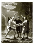 The Oath of the Three Swiss Giclee Print by  English