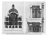 Basilica Saint-Denis, the Valois Tower, C.1655 (Engraving) (See also 414688, 414690) Giclee Print by Jean Marot