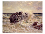 The Wave, Lady's Cove, Langland Bay, 1897 Giclee Print by Alfred Sisley
