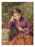 A Woodland Secret, 1868 (W/C on Paper) Giclee Print by Henry Le Jeune