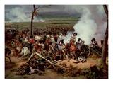 The Battle of Hanau, 1813, 1824 (Detail) Giclée-Premiumdruck von Horace Vernet
