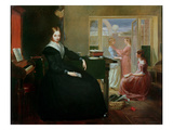 The Governess, 1844 (Oil on Canvas) Giclee Print by Richard Redgrave