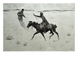 How Order No. 6 Went Through, or the Vision Giclee Print by Frederic Sackrider Remington