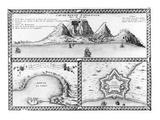 Cap De Bonne Esperance, 1705 (Engraving) Premium Giclee Print by Nicolas De Fer