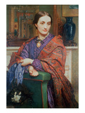 A Lady in an Interior Giclee Print by William Holman Hunt