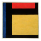 Contra Compositie, 1924 Giclee Print by Theo Van Doesburg