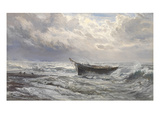 Stormy Seas, 1874 Giclee Print by Henry Moore