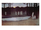 Songs of the Night Giclee Print by Alphonse Osbert