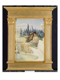 Whispering Noon, 1896 Premium Giclee Print by Sir Lawrence Alma-Tadema