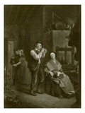 The Two Courtiers Giclee Print by  English