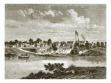 Fort Smith, on the Arkansas Giclee Print by  English