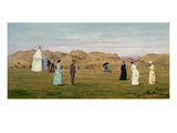 Ladies Match at Westward Ho! Giclee Print by Francis Powell Hopkins