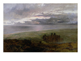 Harlech Castle Giclee Print by Alfred William Hunt