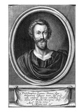John Donne, C.1633 (Engraving) Giclee Print by Pierre Lombard Or Lombart