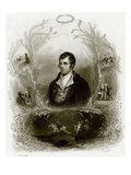 Robert Burns Premium Giclee Print by  English