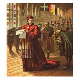 Cardinal Wolsey Giclee Print by  English