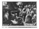 Life of Christ, the Arrest of Christ, Preparatory Study of Tapestry Cartoon Giclee Print by Henri Lerambert