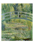 Waterlily Pond, 1899 (Oil on Canvas) Reproduction proc&#233;d&#233; gicl&#233;e par Claude Monet