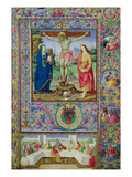 The Crucifixion and the Last Supper (Vellum) Giclee Print by Bartolomeo Della Gatta