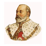 King Edward Vii Giclee Print by  English