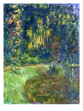 Garden of Giverny, 1923 Giclee Print by Claude Monet