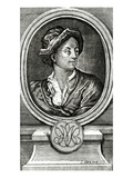 Matthew Prior, Engraved by J. Clark, 1722 (Engraving) Giclee Print by John Francis Rigaud