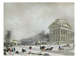 The Barriere Des Champs-Elysees, 1808 (Aquatint) Giclee Print by Philibert Louis Debucourt