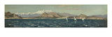 The Gulf of Rosas (Oil on Board) Giclee Print by Henry Moore